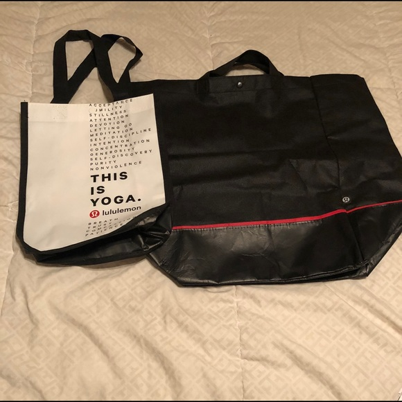 lululemon athletica Bags   Lululemon Tote Bag Made Out Of Fabric ... f3a1cb4038